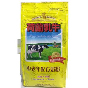 荷兰乳牛中老年人配方奶粉400g袋装营养送父母牛奶粉