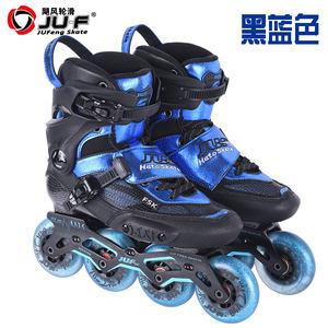 日本购花样刹车直排轮<span class=H>轮滑鞋</span>中国风高端专业刹车鞋溜冰鞋成年hv碳
