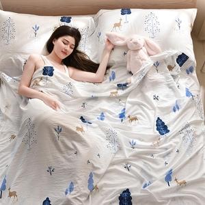 旅行酒店隔脏<span class=H>睡袋</span>室内宾馆便携式成人被套旅游单双人防脏纯棉床单