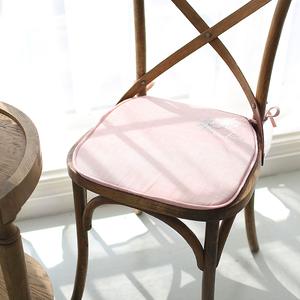米子家居 欧式创意<span class=H>居家</span><span class=H>布艺</span>餐厅/电脑椅垫加厚弹力<span class=H>坐垫</span> 安娜椅垫