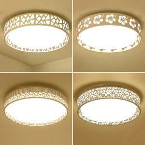 LED吸顶灯圆形创意个性客厅卧室灯现代简约温馨房间灯具餐厅灯饰