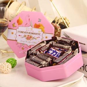 德芙士力架花生夹心巧克力礼盒装元旦情人节生日礼物糖果零食品