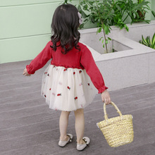 Children's Spring Dresses 2019 New Dresses Excellent Foreign Style Girl's Garment Skirt Children's Skirt Children's Princess Skirt