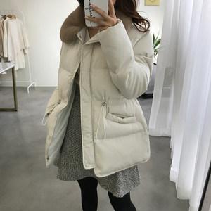 ins面包服短款棉衣2018新款韩版潮流冬装女加厚收腰棉袄棉服外套