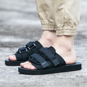 夏天新款<span class=H>拖鞋</span>潮牌一字拖男士人字拖<span class=H>沙滩鞋</span>情侣女平跟防滑越南凉鞋