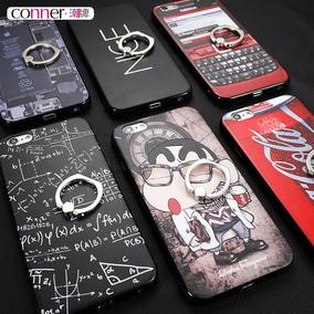 conner 苹果6手机壳套iPhone6plus磨砂硬壳支架6s创意潮男女款6p