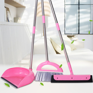 奕辰<span class=H>扫把</span>簸箕套装组合家用软毛刮水器地刮卫生间扫地头发魔法扫帚