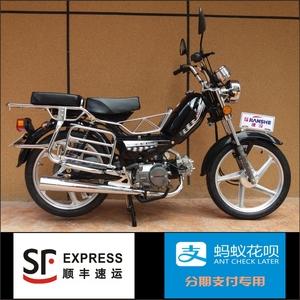重庆售上海建设弯梁燃油助力代步两轮<span class=H>摩托</span><span class=H>车</span>110排量标48Q50爆款