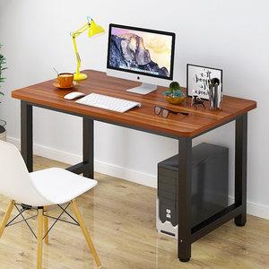 黄木古檀色长80/100/120/140*宽55/60cm台式<span class=H>电脑桌</span>写字书桌办公桌
