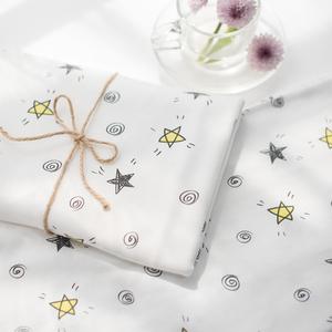 a类宝宝布料精梳棉纯棉针织服装diy婴儿衣服卡通儿童面料夏季床品