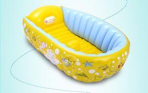 春天婴儿游泳池充气保温婴幼儿童宝宝游泳桶家用洗澡桶新生儿浴盆