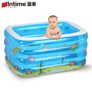 <span class=H>盈泰</span>婴幼儿游泳桶室内宝宝游泳池保温充气儿童加厚新生儿洗澡<span class=H>浴盆</span>