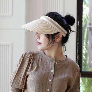 2019雪梨同款网红款空顶帽 ins 百搭遮阳chic防晒韩国女士帽子