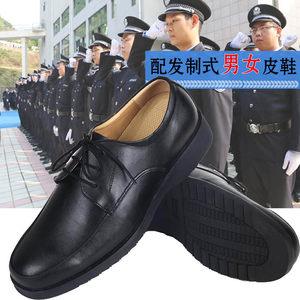 坡跟百搭工作鞋女黑色2018新款夏季内增高小码平底职业鞋上班皮鞋