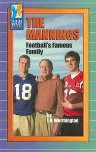 【预售】The Mannings: Football's Famous Family