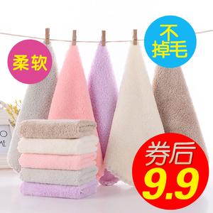婴儿毛巾洗脸巾比纯棉超软宝宝婴幼儿口水巾新生儿<span class=H>用品</span>儿童小方巾