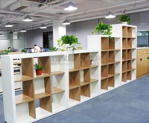 木制组合书柜书架格子柜储物展示柜置物架办公室隔断柜玄关文件柜