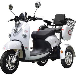 小龟王电动<span class=H>三轮车</span>老年代步车成人男女型小型家用电瓶车接送孩子