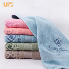 HAPPY LIFE Imported Face Washing Towel Pure Cotton Increased Thickness Absorbent Cotton Facial Towel Customizable