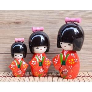 日本套娃和服<span class=H>娃娃</span>木娃木偶日本人偶<span class=H>摆件</span>日本料理店装饰品工艺礼