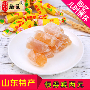 翰盈山东特产正宗高粱饴软糖糖果批发80后怀旧喜糖休闲零食