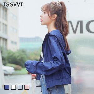防晒衣2019夏季女装新款韩版显瘦原宿bf风学生短款风衣外套<span class=H>棒球</span>服