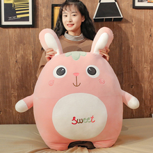 Rabbit plush toy lovely pillow to sleep with you in the doll bed doll birthday gift girl Chao Meng