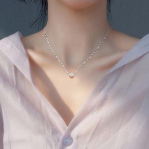 韩版时尚转运珠项链女锁骨链简约吊坠配饰品送女友生日情人节礼物