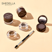 SHEDELLA SYTIA Eyebrow Ointment Net Red Eyebrow Powder Female Waterproof and Sweat-proof Natural and Persistent Genuine Eyebrow Pencil Dyeing Eyebrow Ointment Female