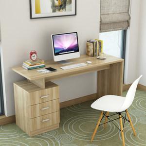 书桌带抽屉的电脑桌学习桌办公桌简约家用简易<span class=H>桌子</span>卧室台式写字桌