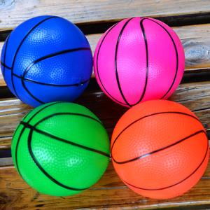小号12cm充气拍拍皮球<span class=H>玩具</span>  充气小篮球 足球 幼儿园球类运动<span class=H>玩具</span>