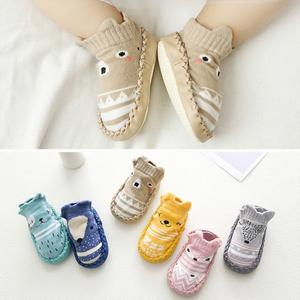 天天特价2双装纯棉立体婴儿学步鞋袜秋冬季防滑新生儿<span class=H>宝宝</span>地板袜