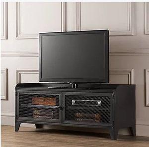 美式铁皮柜loft复古铁艺电视柜矮柜<span class=H>收纳柜</span>餐边柜储物柜机合柜书柜