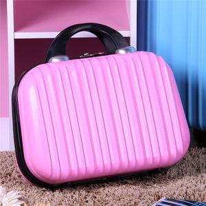 韩国可爱女生大容量手提化妆包卡通便携手提化妆箱迷你旅行箱包邮