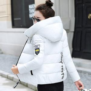 冬季小棉袄女短款学生学院风韩版潮流女士时尚大码170斤时尚<span class=H>棉衣</span>