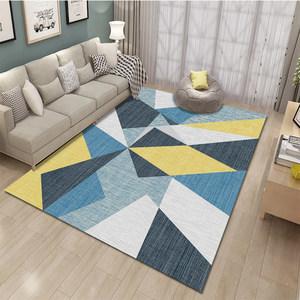 北欧地毯客厅家用现代简约<span class=H>沙发</span>茶几垫子几何长方形美式<span class=H>地垫</span>可定制