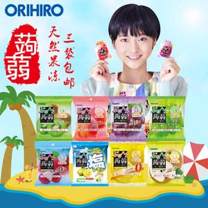 现货日本进口orihiro立喜乐低卡高纤维 �X�m魔芋果汁口味<span class=H>果冻</span><span class=H>零食</span>