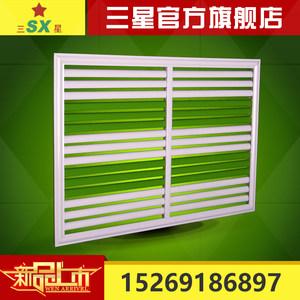 铝合金 铁艺<span class=H>百叶</span>暖气罩 厂家直销家居装饰室内绿色暖气罩