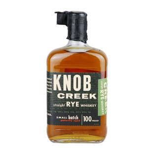 洋酒 Knob Creek Rye <span class=H>Whiskey</span>诺布克里克 诺不溪黑麦<span class=H>威士忌</span> 美国