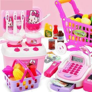 小孩玩过家家做饭的<span class=H>玩具</span>厨房女孩公主迷你扮演<span class=H>礼盒</span>家东西幼儿角色
