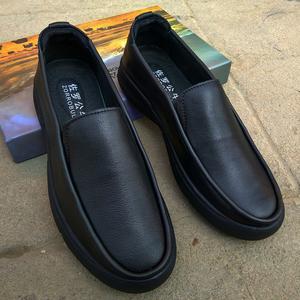 新款<span class=H>男鞋</span>软底秋季真皮懒人<span class=H>鞋</span>潮<span class=H>鞋</span>男士商务休闲皮<span class=H>鞋</span>男中年爸爸<span class=H>鞋子</span>