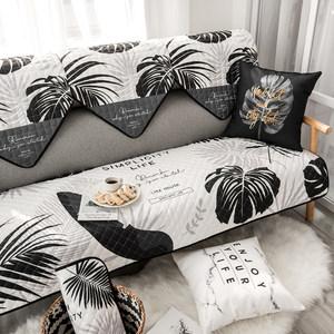 <span class=H>沙发垫</span>套简约北欧四季布艺防滑沙发靠背巾沙发罩通用三人<span class=H>沙发垫</span>罩