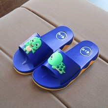 Homestead children slippers women wear summer light bathroom leisure slip-proof 6-year-old pattern household support shoes