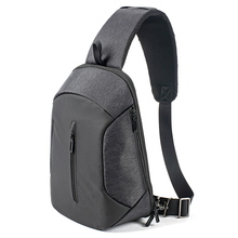 Men's new Korean version of the new Korean version of the large capacity backpack business, leisure, multi-functional business travel single shoulder bag.