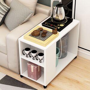 <span class=H>茶艺桌</span>沙发边角几小茶几侧边荼具港式多功能个性茶水柜会客区简约