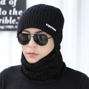羊毛毛线帽男女<span class=H>帽子</span>冬天针织帽男士<span class=H>帽子</span>冬保暖潮包头帽冷帽围脖套