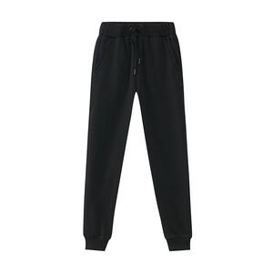 [春]美特斯邦威休闲裤女士秋装黑色显瘦潮宽松bf风运动针织裤学生