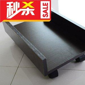 长方形桌下<span class=H>电脑</span><span class=H>主机托</span>架垫高支架柜子简易小型机箱可移动放置白色