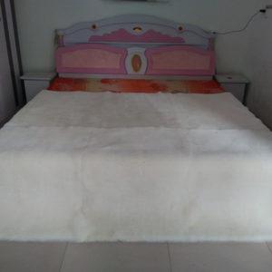 高档羊皮整张欧式羊剪绒<span class=H>地毯</span>沙发垫短毛地垫纯羊毛澳洲