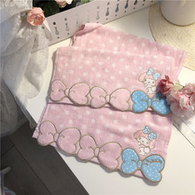 Cartoon Melody cute lace embroidered cotton towel towel towel